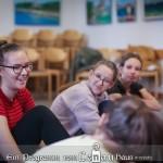Bühnen- und Rhetorikworkshop wurde für Jugendliche im Lenau Haus organisiert / Színházi és retorikai workshopot tartottak diákoknak a Lenau Házban (Foto: József Hubay)