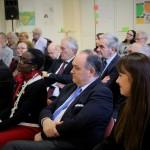 Cord Meier-Klodt, német nagykövet és felesége, Ovidiu Ganţ romániai német képviselő és Karoline Gil (ifa) / Der Deutsche Botschafter, Cord Meier-Klodt und Gattin, Ovidiu Ganţ (Parlamentsabgeordneter der DMi), Karoline Gil (ifa)