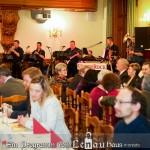 A jó hangulatról az UnterRock Zenekar gondoskodott / Für die gute Stimmung sorgte die UnterRock-Kapelle