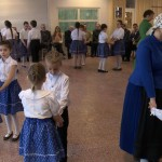 "A bátaszéki ""Heimat"" német nemzetiségi táncegyüttes műsora / Begrüßungsprogramm der Badesecker ungarndeutschen Volkstanzgruppe ""Heimat"""