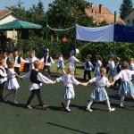 Óvodás gyermekek találkozója Dunabogdányban / Treffen der Kindergartenkinder in Bogdan