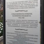 Im alten Friedhof von Wudersch