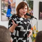 Ambach Mónika igazgató köszönetet mondott kollégáinak / Direktorin Monika Ambach dankte ihren Kollegen
