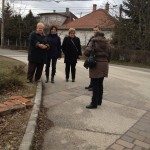 Terepszemle Pilisszentivánon / Geländebegehung in Sanktiwan bei Ofen