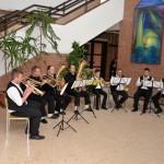 Die Neun Branauer Musikanten (Foto: Bianka Kulimák)