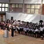 Für die musikalische Bereicherung des Programms sorgten der Chor Vocalitas Krölpa/Thüringen und der Chor des UBZ (Foto: Bianka Kulimák)