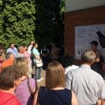 Felavatták hazánk első német nemzetiségi tanösvényét / Der allererste ungarndeutsche Lehrpfad wurde feierlich übergeben