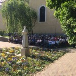 Május 28-án avatták fel hazánk első német nemzetiségi tanösvényét / Am 28. Mai wurde der erste ungarndeutsche Lehrpfad feierlich übergeben