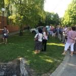 Interaktív falutúrával várja a turistákat Somberek / Mit interaktivem Spaziergang durch das Dorf erwartet Schomberg die Touristen