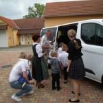 Boschok durfte einen BMI-Kleinbus übernehmen / Palotabozsok BMI-kisbuszt vehetett át