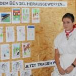 Schülerinnen und Schüler haben sich mit dem Thema Vertreibung der Ungarndeutschen beschäftigt (Foto: Robert Ginál)