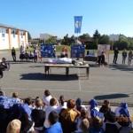 LdU-Wanderbündel in der Bohler Grundschule