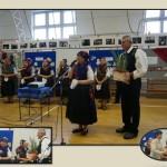 LdU-Wanderbündel in der Valéria-Dienes-Grundschule in Seksard (Foto: Klára Zalakovics-Kovács)