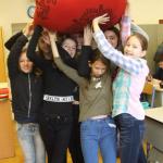 Das LdU-Wanderbündel in der Roten Schule