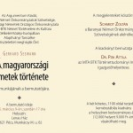 Könyvbemutató a Lenau Házban mutatják be / Buchpräsentation im Lenau Haus