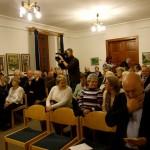 Telt ház a díjátadón / Volles Haus bei der Preisverleihung