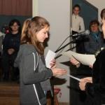 """Preisverleihung des Aufsatzwettbewerbs """"Meine Oma hat erzählt…"""" (Foto: Robert Ginál)"""