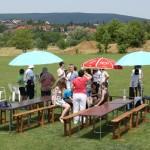 Első alkalommal rendeztek kubb-versenyt Pécsett / Es wurde das erste Kubb-Turnier in Fünfkirchen veranstaltet (Foto: László Tóth)