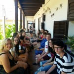 A Német Nemzetiségi Gimnázium diákjai Újhartyánba látogattak / DNG-Schüler in Hartian