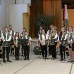 Das Großmanoker Jugendblasorchester / A Nagymányoki Ifjúsági Fúvószenekar