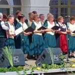 Der Chor des Bonnharder Deutschen Nationalitäten-Kulturvereins