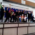 Az iskola tánccsoportjának műsora / Die Tanzgruppe der Schule gestaltete das Eröffnungsprogramm