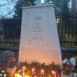 Das Denkmal der aus Hartian Verschleppten