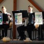 Das Jugendharmonikaauswahlorchester (JHAO) des Landesrates