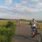 GJU-ler auf Fahrrad