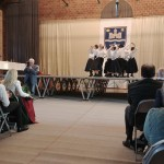 A Tamási Áron Iskola tánccsoportja / Die Tanzgruppe des Áron-Tamási -Schule