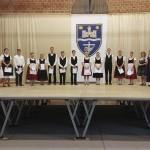 Az ösztöndíjban részesülő tanulók / Die  SchülerInnen, die ein Stipendium erhalten