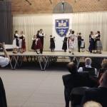 A Német Nemzetiségi Gimnázium tánccsoportja / Die Tanzgruppe des Deutschen Nationalitätengymnasiums