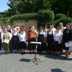 Die TeilnehmerInnen der Singwoche und des Chorleiterseminars