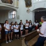 In der Pfarrkirche Sankt Peter