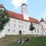Das Schloss von Höchstädt