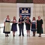 Az év német pedagógusai: Koródi Csilla, Meskó Gyula, Tüttőné Rácz Éva