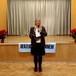 Judit Bárkányi, die Vorsitzende der Deutschen Selbstverwaltung Budapest