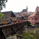 Stadtbesichtigung in Český Krumlov
