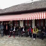 Újhartyáni és dettai fiatalok látogattak Kübekházásra / Jugendliche aus Hartian und Detta besuchten Kübeckhausen