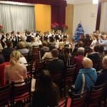 Der Tanzauftritt der Zweitklässler der Grundschule Pannonia war mit mit Spiel und Lustigkeit erfüllt