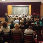 Der Rosmarin-Chor aus dem XVI. Bezirk brachte dem Publikum einen Liederkranz mit Weihnachts- und ungarndeutschen Stücken