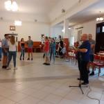 Auftritt der Jugendtanzgruppe des Vereins Junger Haraster Schwaben / A Haraszti Fiatal Svábok Egyesület tánccsoportjának fellépése