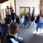 Német nemzetiségi tábort tartottak a szigetszentmártoni iskolásoknak Újhartyánon /  Sankt Martiner Schüler nahmen an einem Nationalitätencamp in Hartian teil