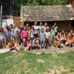 Nationalitätencamp in Großnaarad: Eine interessante und lustige Woche mit dreißig Campern