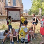Nationalitätencamp in Großnaarad: Ausflug zum ungarndeutschen Lehrpfad in Badeseck