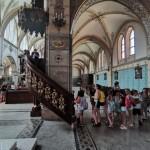 Nationalitätencamp in Großnaarad: Besuch der Badesecker Kirche