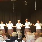 Jó hangulatú kórus- és tánctalálkozó Békásmegyeren / Chor- und Tanztreffen in Krottendorf