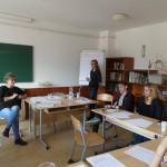 Neue Wege bei der GJU - Besprechungen im Werischwarer Friedrich-Schiller-Gymnasium