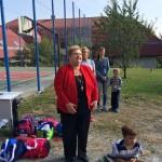 Englenderné Hock Ibolya, a Koch Valéria Iskolaközpont igazgatója / Ibolya Hock-Englender, Schulleiterin des Valeria-Koch-Bildungszentrums