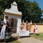 Megáldották az új kenyeret augusztus 20-án Vaskeresztesen